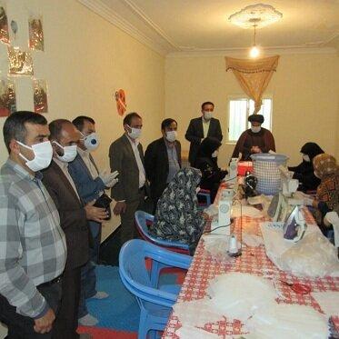 اهدا ۸ هزار عدد ماسک بچه های آسمان به جامعه هدف وکل کارکنان بهزیستی استان