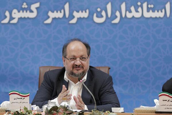 وزیر تعاون، کار و رفاه اجتماعی ۵۰ درصد از حقوق خود را به پویش همدلی مومنانه اختصاص داد