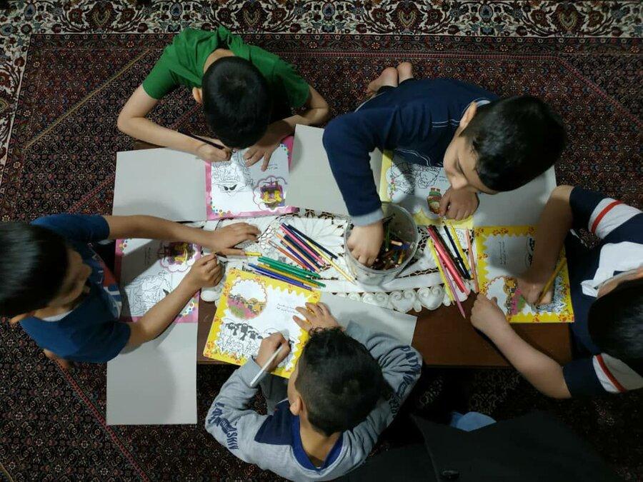 گزارش تصویری |کودکان بی سرپرست و بد سرپرست ساکن در مراکز بهزیستی این روزها چه می کنند؟