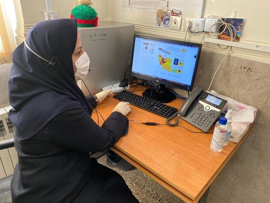 ۴۵درصد تماس های ماه گذشته صدای مشاور در استان چهارمحال و بختیاری با موضوع کرونا