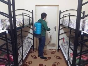 ضد عفونی مراکزاقامتی ترک اعتیاد بهزیستی استان
