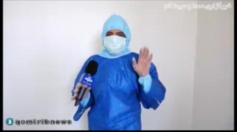 فیلم|بهشت کوچک؛ گزارش صدا و سیمای مرکز قم از یکی از مراکز توانبخشی استان در شرایط قرنطینه