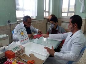 همکاری پایگاه همیاران سلامت روان شهرستان لردگان در پیشگیری از شیوع کرونا