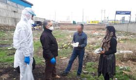 فعالیت پایگاههای سلامت اجتماعی و جمعیت همیاران سلامت در راستای پیشگیری از ویروس در محلات آسیب خیز و حاشیه نشین آذربایجان غربی