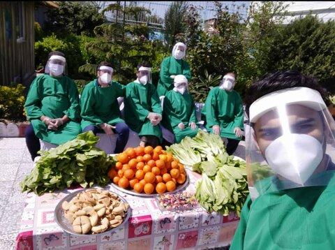 تقدیر از تلاشهای کارکنان شاغل در مراکز تحت پوشش بهزیستی در مقابله با کرونا، با مساعدت بنیاد مستضعفان انقلاب اسلامی
