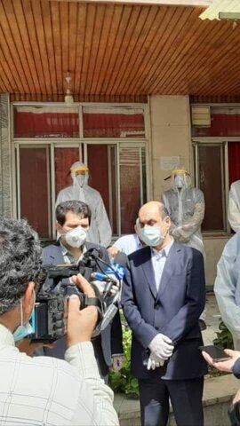گزارش تصویری| بازدید استاندار گلستان از خدمات پیشگیرانه مقابله با ویروس کرونا در مراکز بهزیستی