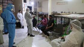 گزارش تصویری| اسکان شبانه معتادان و افراد بی خانمان در «سرپناه شبانه فرحزاد»