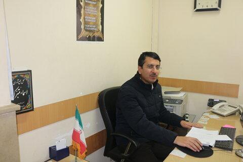 تاکستان | اهدای ۳۵۰ پک اقلام بهداشتی به موسسه معلولان در تاکستان