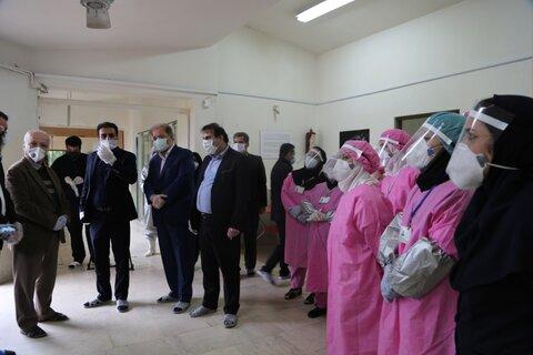 بازدید مدیر کل بهزیستی مازندران از اقدامات پیشگیرانه مرکز مهراوران شمال