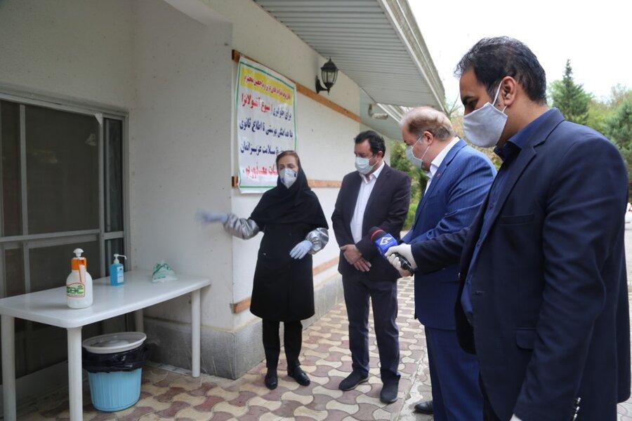 گزارش تصویری| بازدید مدیر کل بهزیستی استان مازندران از روند اقدامات پیشگیرانه در مرکز شبانه روزی نگهداری از سالمندان مهرآوران شمال