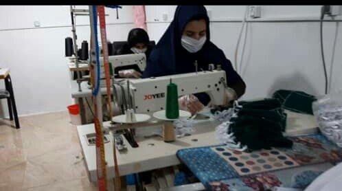 فیلم/گزارش خبری از فعالیت کارگاه تولیدی زنان سرپرست خانوارایوان