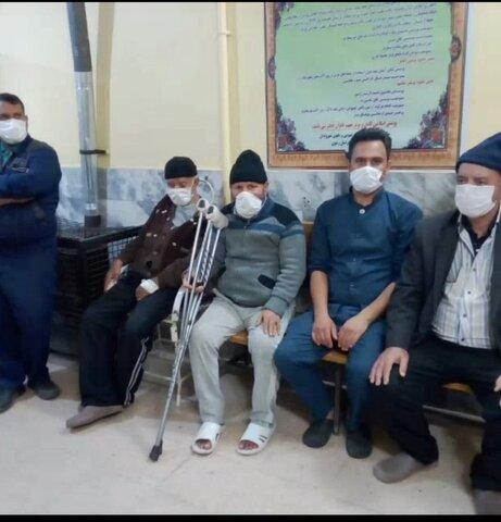 فیلم | اقدامات پیشگیری و مقابله با ویروس کرونا در مرکز سالمندان توحید گلمکان