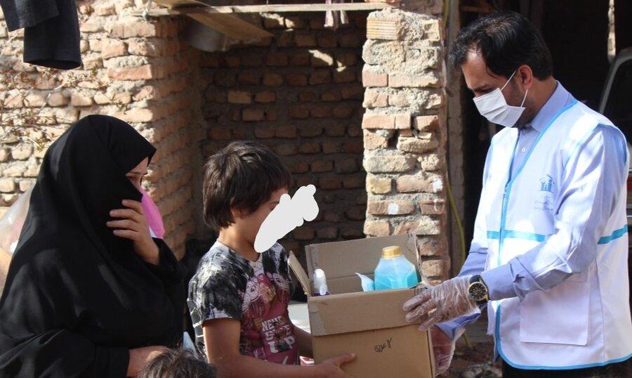بسته های اقلام بهداشتی بین ۱۸۰ کودک کار خراسان جنوبی توزیع شد