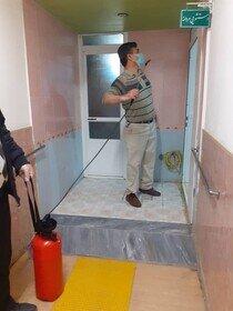 گزارش تصویری |ضد عفونی کردن اداره بهزیستی شهرستان بناب از توابع استان   آذربایجان  شرقی جهت پیشگیری از شیوع بیماری کووید 19