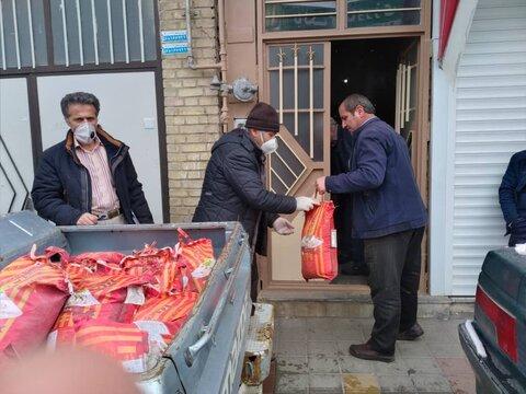توزیع 400 بسته حمایتی غذایی به خانواده های مددجویان بهزیستی در خلخال