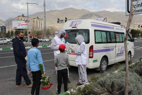 ۱۶۰۰ پک بهداشتی میان کودکان کار استان البرز توزیع شد
