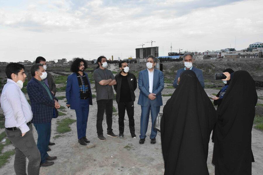 تصویر | بازدید مدیر کل بهزیستی استان و خبرنگاران از پاتوق معتادین متجاهر و کارتن خواب اسماعیل آباد مشهد