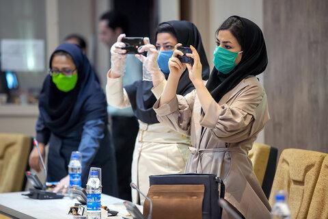 گزارش تصویری|نشست خبری مدیرکل بهزیستی استان کرمانشاه به منظور تشریح خدمات در بحران کرونا