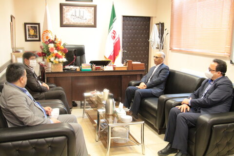 دیدار مدیرکل دیوان محاسبات با مدیر کل بهزیستی استان سمنان