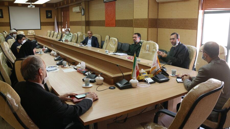 اولین جلسه کارگروه مدیریت  بحران کرونا با رویکرد مشاوره به میزبانی بهزیستی استان قم برگزار شد.