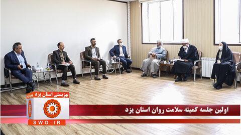 کلیپ | نخستین جلسه کمیته سلامت روان اجتماعی استان یزد