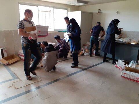 دزفول|110 پکیج غذایی بین مددجویان بهزیستی شهرستان دزفول توزیع شد