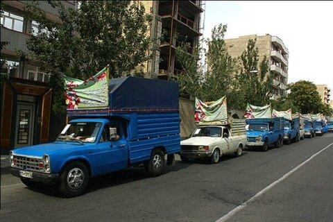 شهرستان اردبیل ا توزیع جهیزیه در بین مددجویان و توانخواهان بهزیستی شهرستان اردبیل