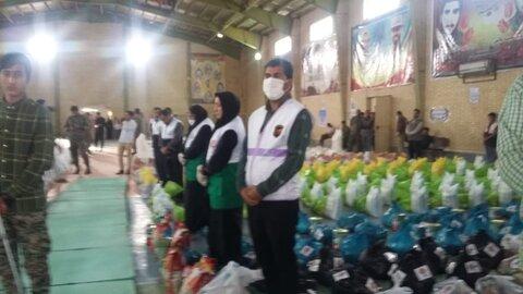 دشت آزادگان| 1200بسته غذایی بین مددجویان بهزیستی توزیع شد