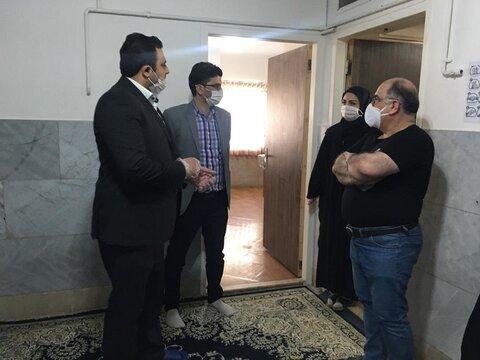 ملارد | معاون فرماندار از مرکز علی ابن ابی طالب (ع) شهرستان بازدید کرد