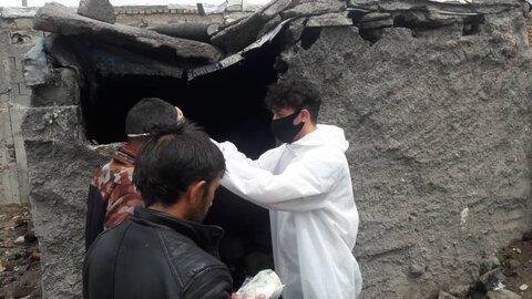 گزارش تصویری ا اقدامات جمعیت همیاران پاک پیشگیری اولیه از اعتیاد بهزیستی استان اردبیل در محلات پرآسیب و پاتوق معتادین