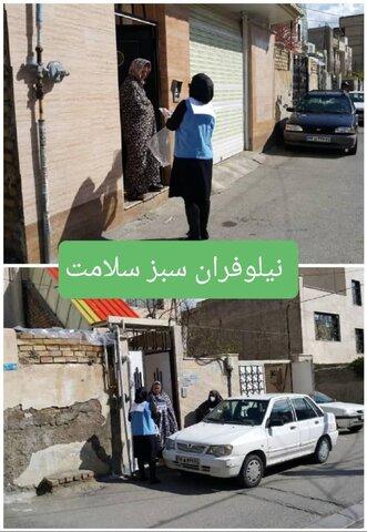 توزیع ۱۵۰۰ بسته  اقلام خوراکی بین ۱۵ پایگاه سلامت روان اجتماعی استان البرز