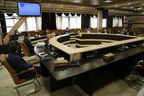 جلسه شورای معاونان سازمان بهزیستی ۹ اردیبهشت ۹۹