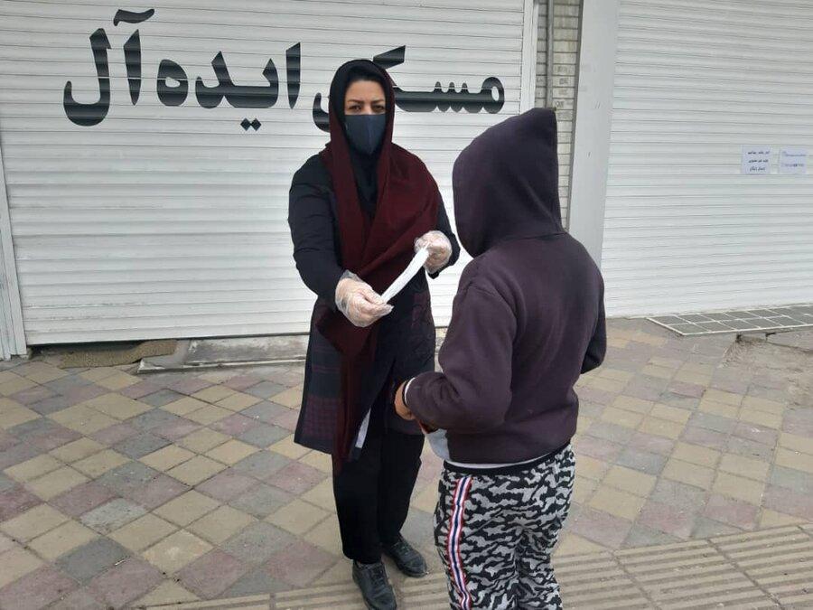 گزارش تصویری ا فعالیت گشت سیاربهزیستی استان اردبیل جهت حفاظت از کودکان خیابانی در خصوص ویروس کرونا