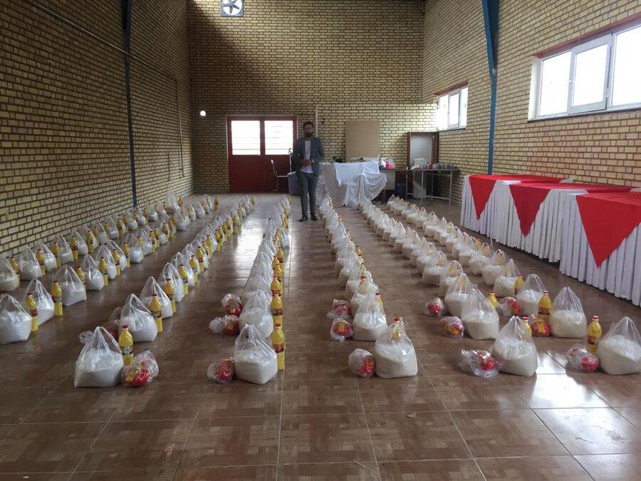 توزیع ۱۵۰ بسته غذایی بین مددجویان بهزیستی ارومیه