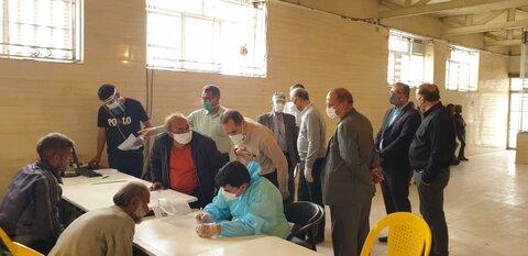 بازدید مدیرکل بهزیستی استان تهران از مرکز معتادان متجاهر شفق