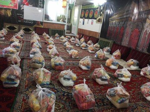 پویش همدلی مومنانه توزیع بیش از۱۰۰۰بسته موادغذایی درماه مبارک