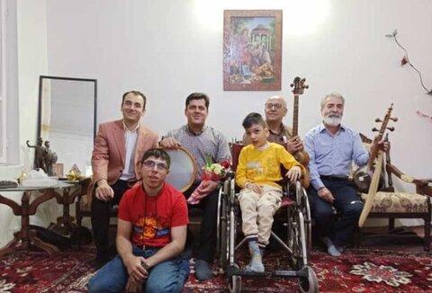 درمان معلولیت با سمفونی موسیقی