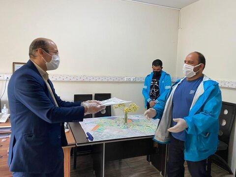 گزارش تصویری   تجلیل از تیم گشت سیار مرکز کاهش آسیب گذری سر پناه شبانه شهرستان فردیس