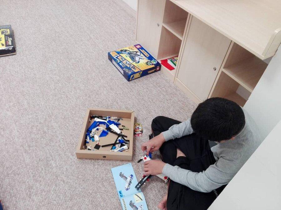 گزارش تصویری ا حال هوای مرکز نگهداری کودکان 7 تا 12 در روزهای کرونایی