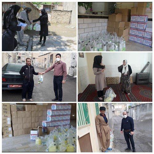 توزیع بیش از 3000 بسته بهداشتی به مناسبت ماه مبارک رمضان در بهزیستی مریـوان