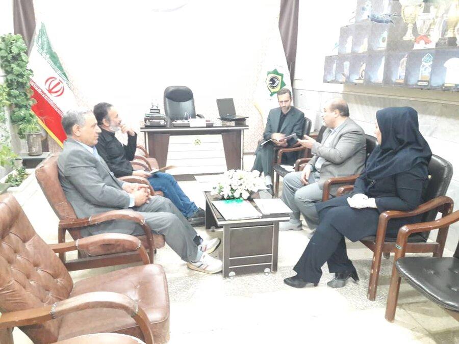 دیدار مدیرکل بهزیستی استان قم با مدیران تشکلهای معلولین استان.