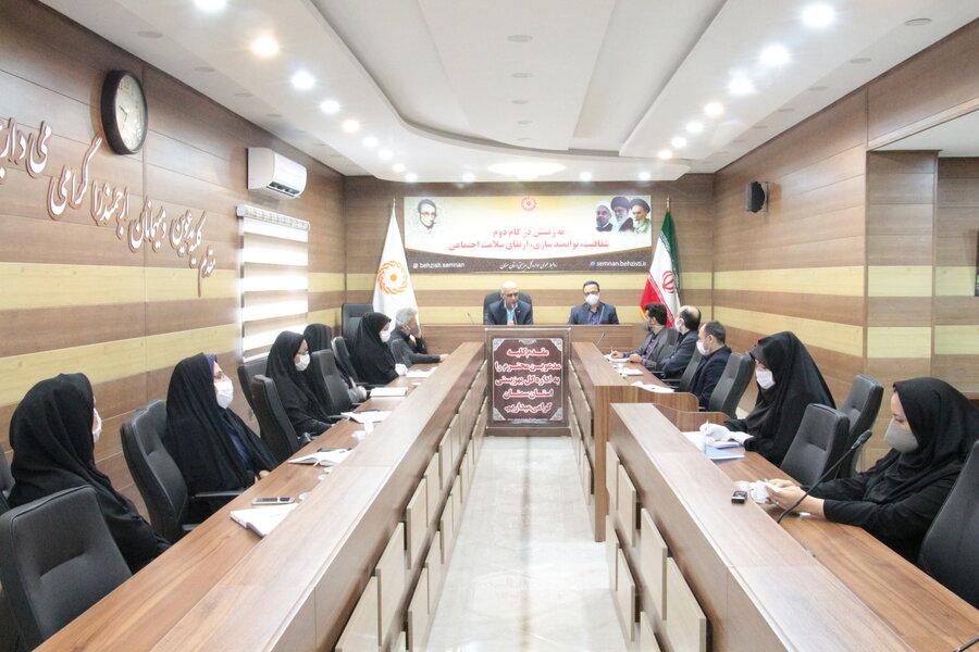 برگزاری جلسه شورای معاونین