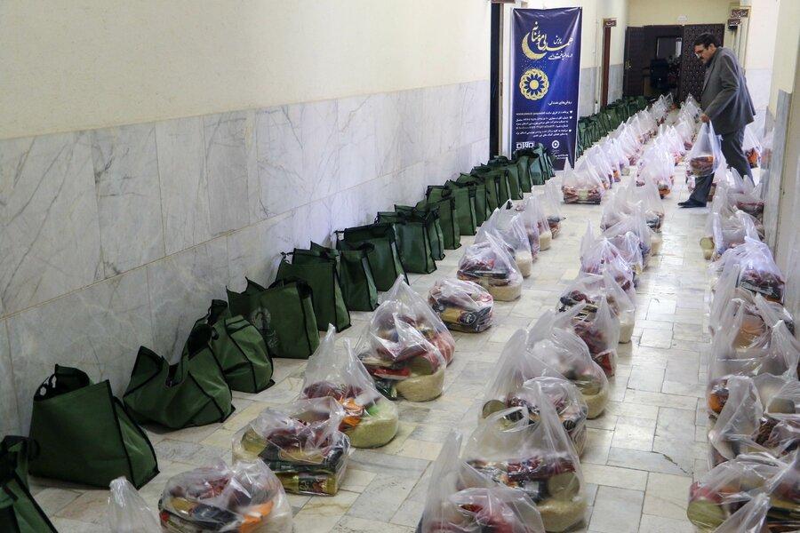 گزارش تصویری | مرحله سوم پویش همدلی مومنانه و توزیع 200 بسته حمایتی ویژه مددجویان بهزیستی استان یزد