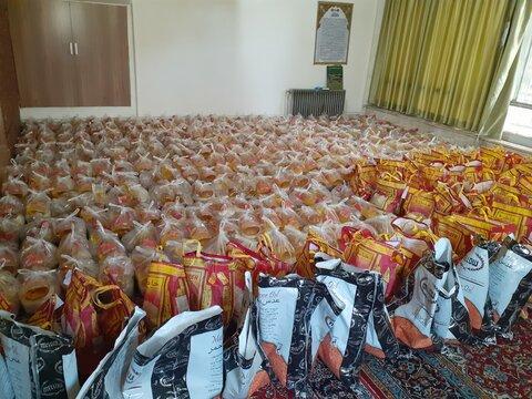 گزارش تصویری | توزیع 550 بسته معیشتی برای معلولان در #طرح_پویش_همدلی_مومنانه