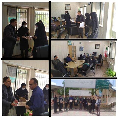 ساوجبلاغ   تجلیل از روانشناسان مراکز غیردولتی تحت نظارت اداره بهزیستی شهرستان ساوجبلاغ