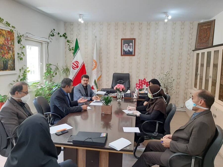 کرج   برگزاری شورای اداری شهرستان کرج با محوریت بررسی چالش های حوزه توانبخشی