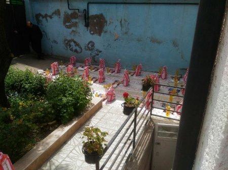 توزیع سهمیه بسته غذایی بین مددجویان بهزیستی شهرستان اردبیل