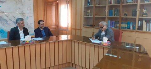 دیدار دکتر حسین نحوی نژاد با معاون عمرانی استانداری گیلان