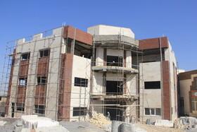 گزارش تصویری/ روند احداث نخستین ساختمان پایگاه خدمات اجتماعی در ایلام