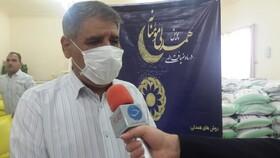 فیلم|گزارش واحد خبر صدا و سیما از توزیع 4هزار بسته معیشتی بهزیستی خوزستان